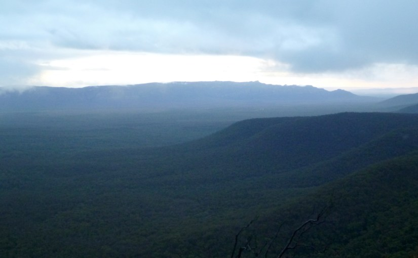 Panoramic View : Victoria Valley and Victoria Range
