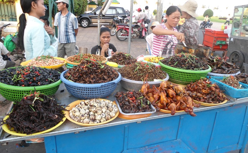 Edible : Cambodia – Exotic Food
