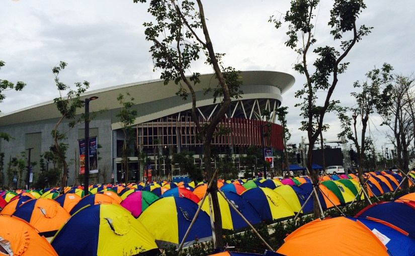 Colors : Tent City Area – Ciudad de Victoria