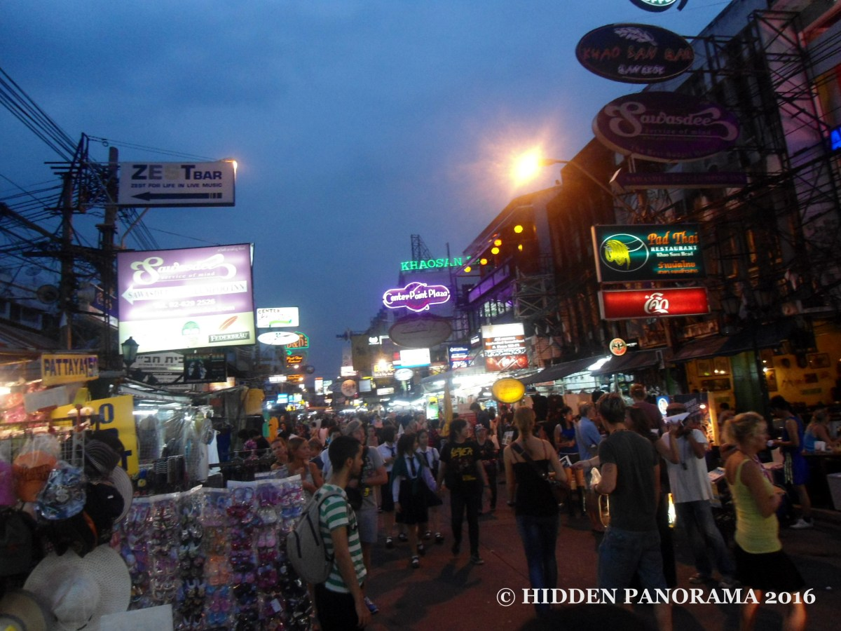 In The Middle Of Somewhere : Khao San (Khaosan) Road