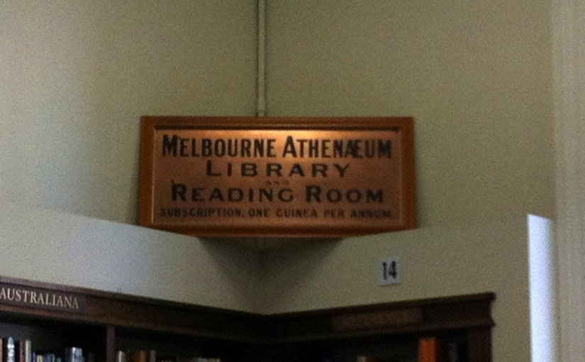 The Melbourne Athenaeum – Victoria's Oldest Subscription Library