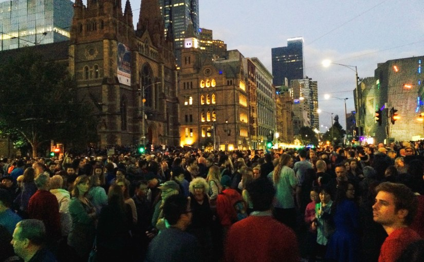 In The Middle Of Somewhere : Flinders Street