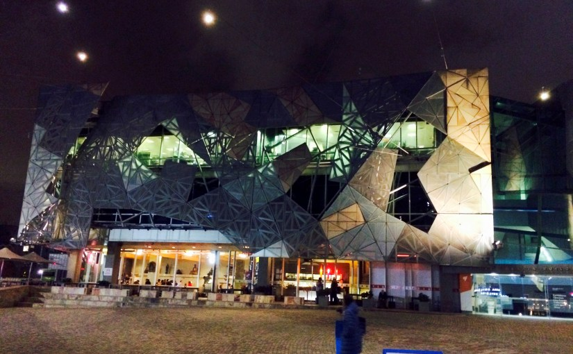 Twilight : Federation Square
