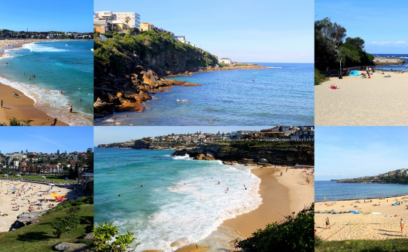 Sydney Beaches … A Walk from Bondi to Coogee
