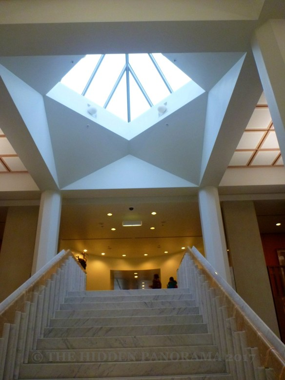 Interior : Canberra's Parliament House - Marble Foyer - The