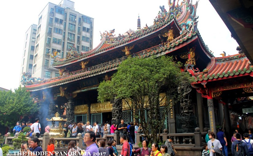 Structure : Longshan Temple – Taiwan's Famous Old Temple