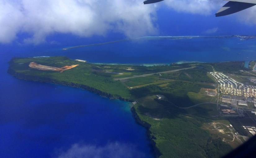 Travel Diary 101 : On My Way to Guam