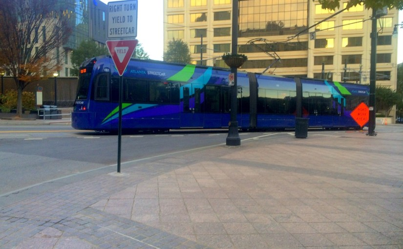 Transportation : Atlanta – Streetcar