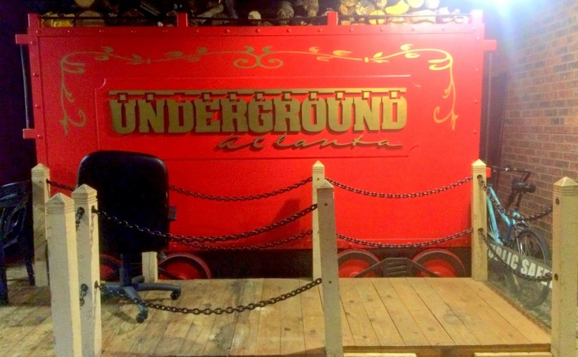 Name Of The Place : Underground Atlanta