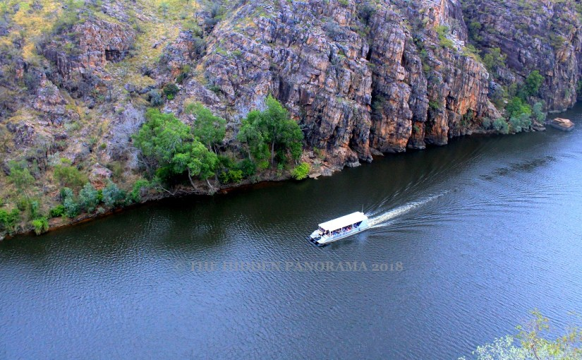Transportation : Nitmiluk, NT – Narrated Cruising Boat