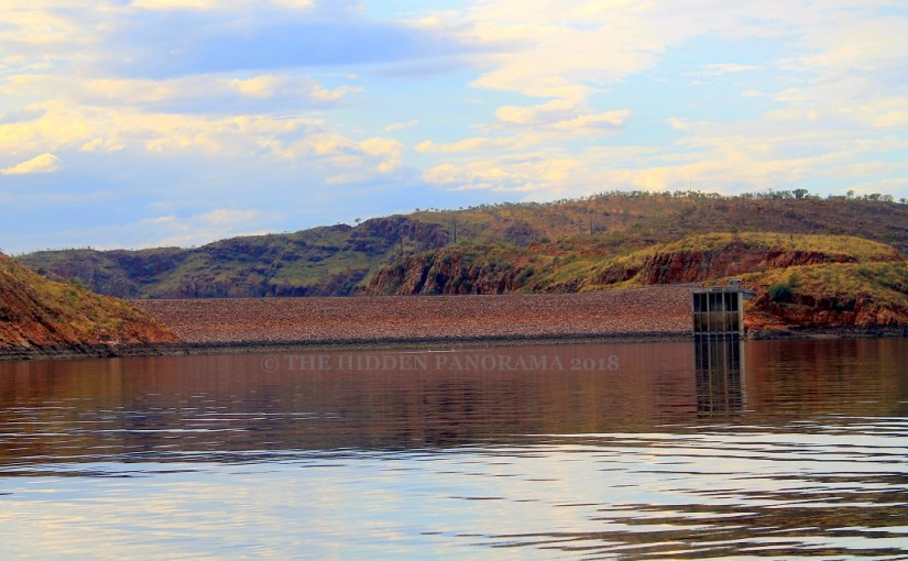 Discovery : Ord River (Lake Argyle) Dam Wall
