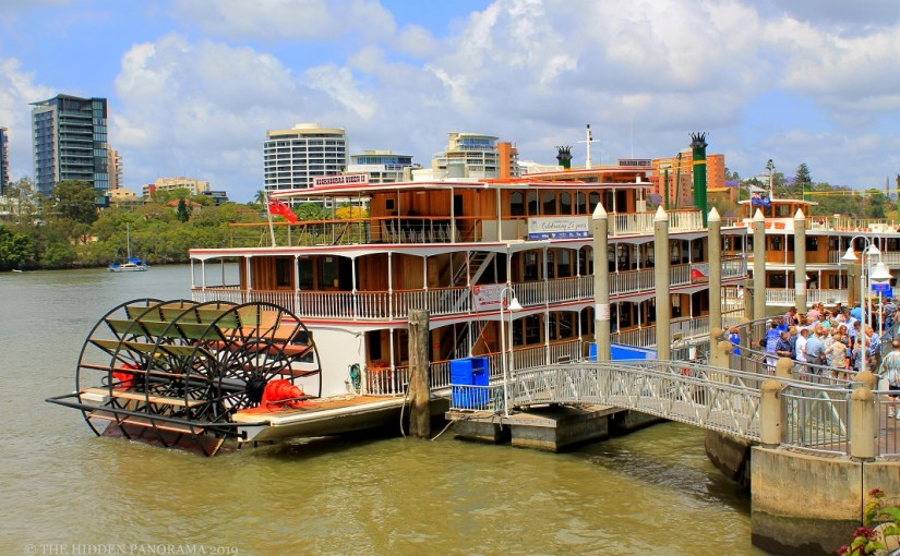 Transportation : Brisbane, Queensland – Kookaburra Queen Paddle Wheeler