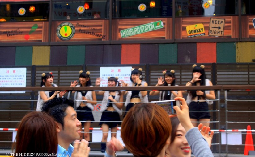 Still Expression : Dotonbori, Osaka – Japanese Pop Singing