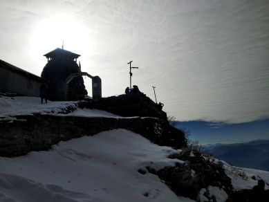 At World's highest Lord Shiva temple