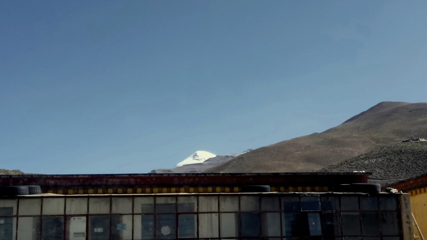 Mount Kailash from Darchen