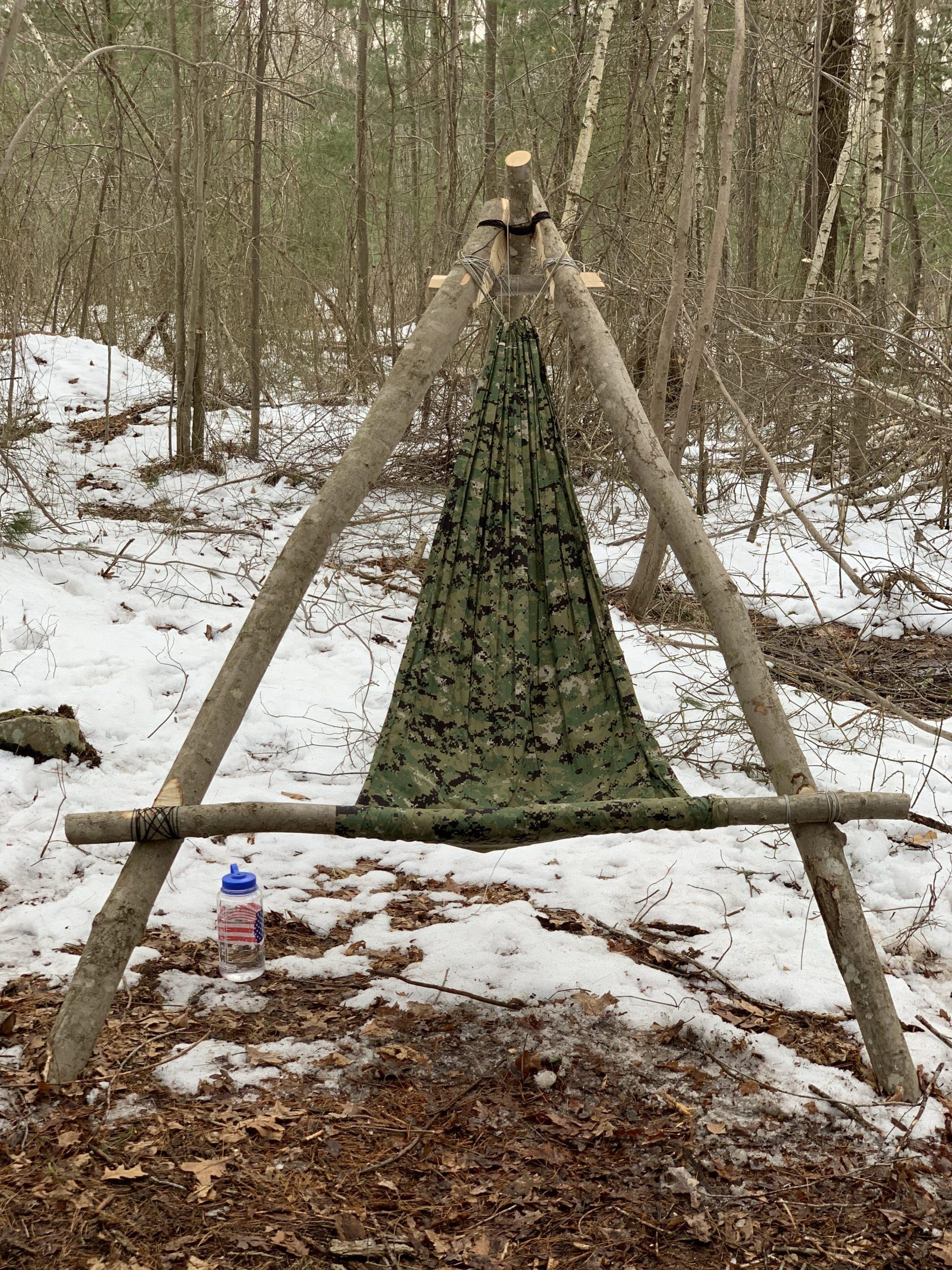 Wilderness Camp Chair  Hidden Woodsmen