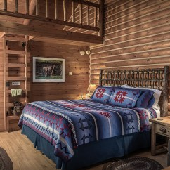 Sofa Bed Modern Style 4 Seater Chesterfield Guest Ranch Accommodations - The Hideout Cabins.