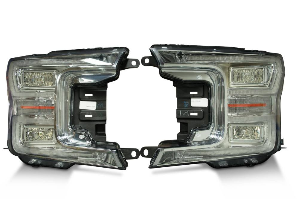 medium resolution of 2018 ford f150 oem led headlights high quality led headlights brought to you by