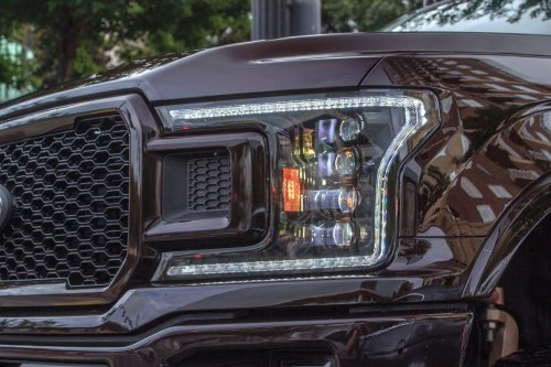small resolution of pair 2018 ford f150 xb led headlights