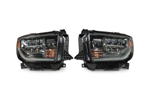 small resolution of pair 2018 toyota tundra oem led headlights