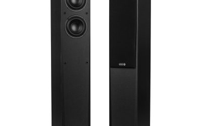 Dayton Audio MK442T 4″ 2-Way Transmission Line Tower Speaker Pair