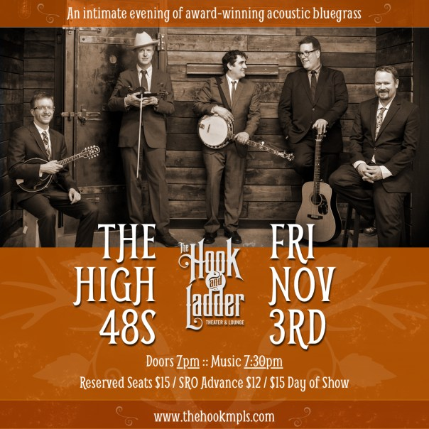 The High 48s at the Hook & Ladder Theater Nov 3 2017
