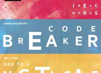 Codebreaker CD cover James McCarthy