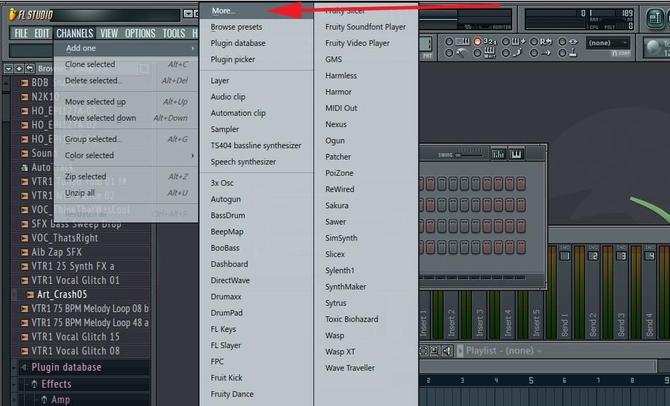 fl studio 11 vst plugins list
