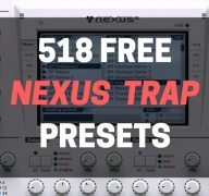 7 Free Trap Nexus VST Expansions Packs – 518 Trap Presets