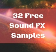 32 Free Sound FX Wav Samples [ 115 MB| Sci-fi Movie genre]