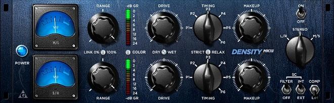 VST Plugin for compression - Sound Density MKIII