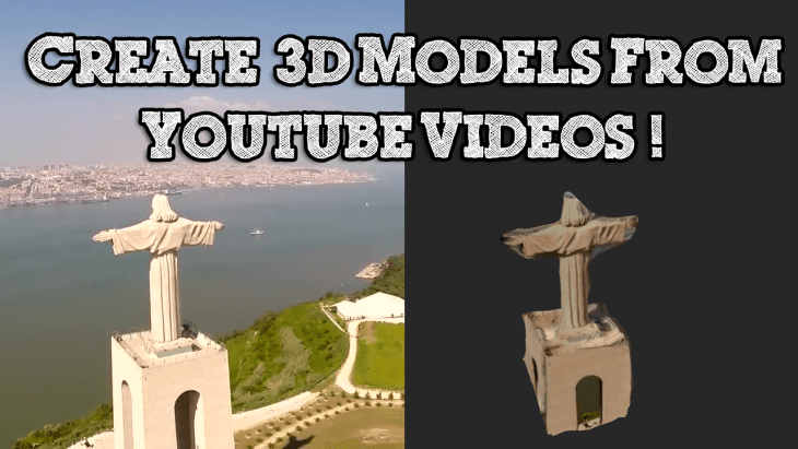 How to Create a 3D Model From any Youtube Video using