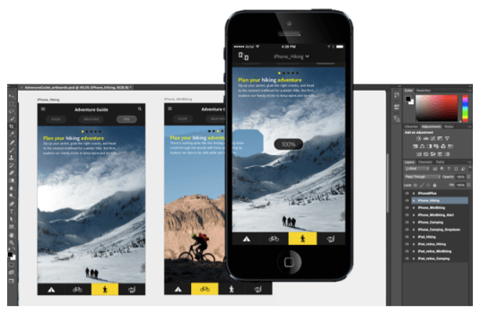 Photoshop CC Review Mobile Preview