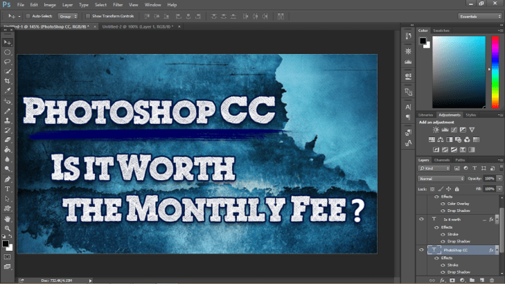 Photoshop CC: Is it Worth the Monthly Fee? | TheHighTechHobbyist