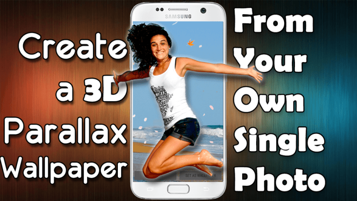 How To Make A 3d Parallax Wallpaper From Your Own Single Photo Thehightechhobbyist