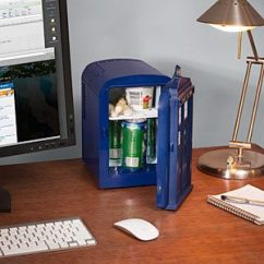 Geeky Kitchen Gadgets Transformations To Buy As Gifts Or For Yourself Tardis Mini Fridge