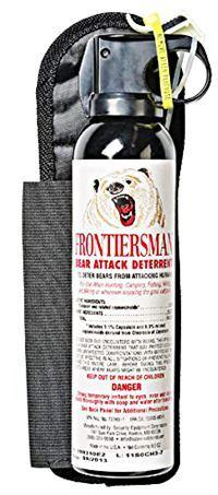 Frontiersman Bear Spray with Chest