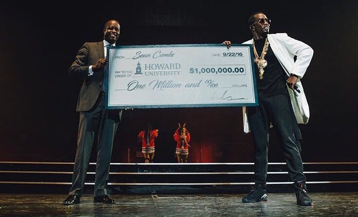 "Sean ""P. Diddy"" Combs Gifts His Alma Mater"