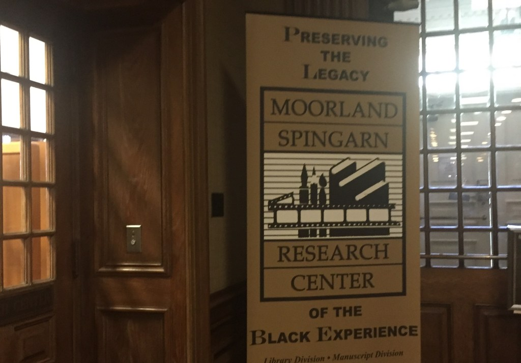 A Treasure Among Us: Moorland-Spingarn Research Center