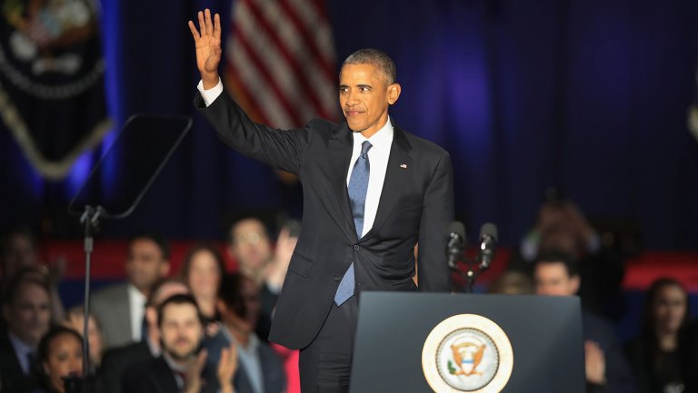 Farewell Mr. President: Obama Bids America a Final Farewell As POTUS