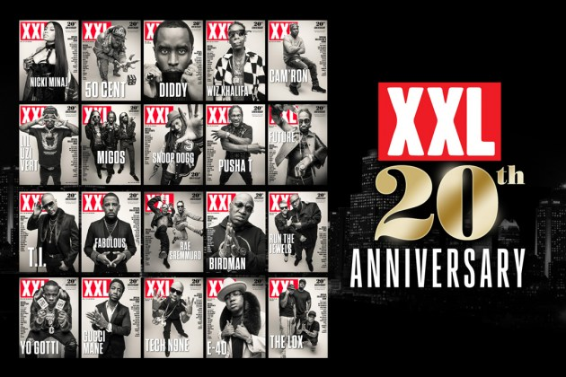 20 Covers for 20 Years of XXL Magazine
