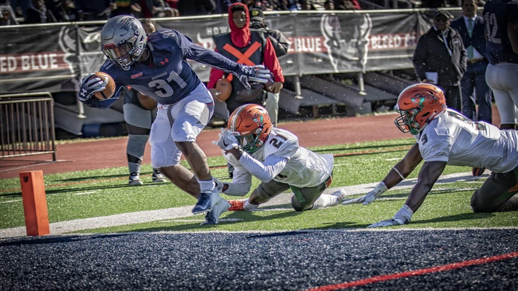 The Howard University Football Team Hands Florida A&M Conference Loss