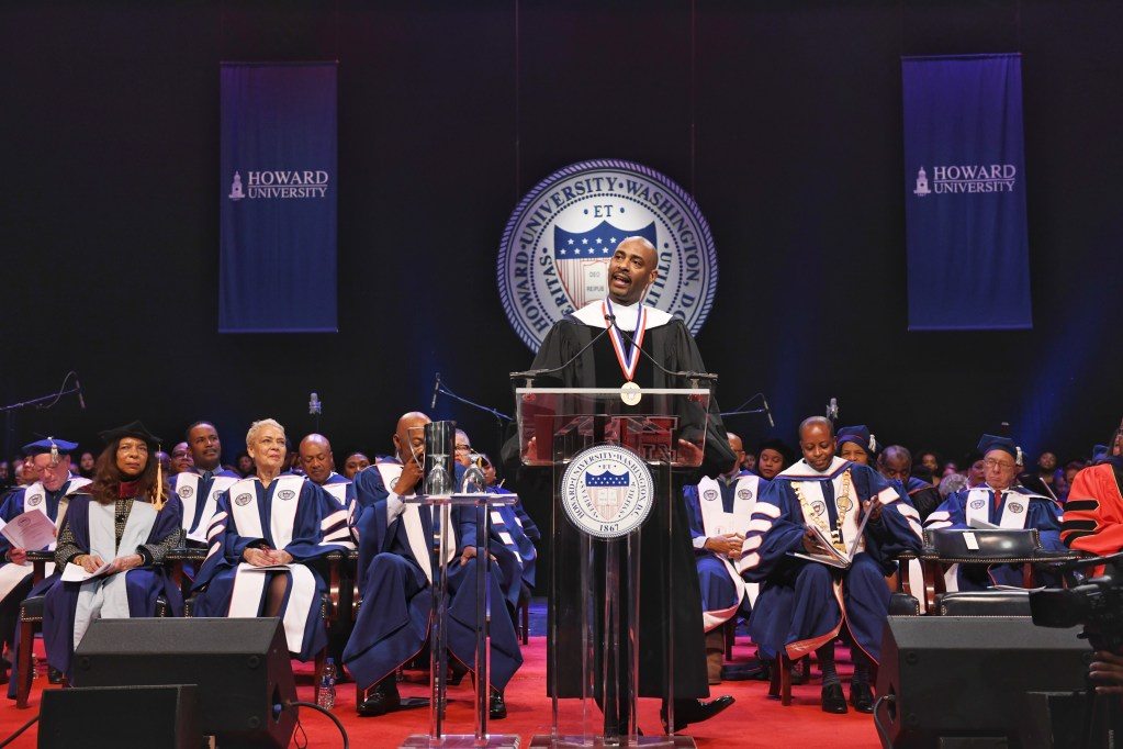 Charles D. King Delivers 2019 Charter Day Convocation Speech