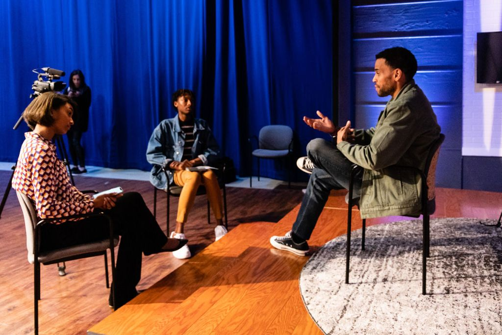 "Michael Ealy, Star of the Upcoming Film ""The Intruder"", Visits Campus"