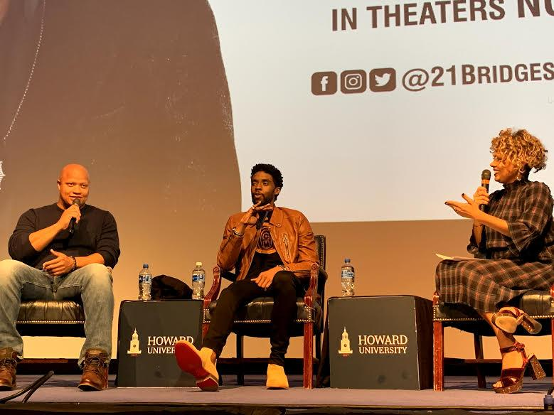 "Howard Welcomes Back Alumnus Chadwick Boseman for ""21 Bridges"" Screening"