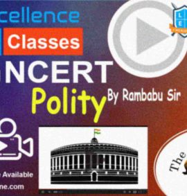 Video Lectures of NCERT Polity UPSC