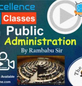 Video Lectures of la excellence Public Administration for upsc