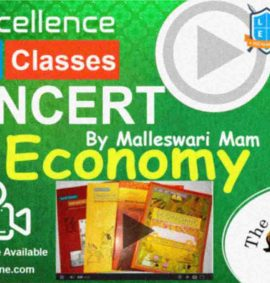 Video Course of NCERT Economy By Malleswari Mam