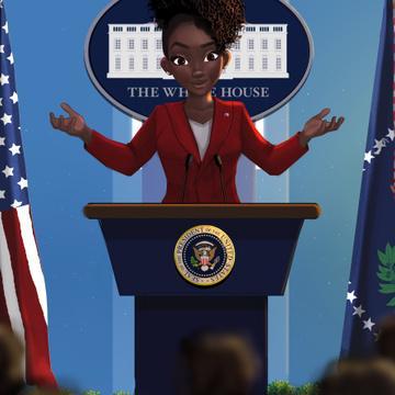 2020 Presidential Poster