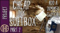 Cheap DIY Softbox Lighting For Video Or Photography! Part ...